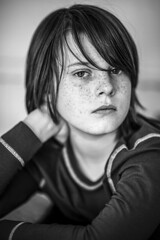 ... (peterhasky) Tags: portrait people blackandwhite bw bokeh nikkor85mm14d nikond600
