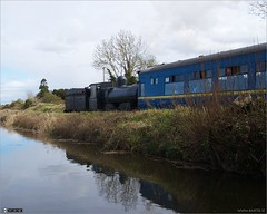 Last Look at No.186 (bbusschots) Tags: ireland train canal rail maynooth kildare steamloco rpsi no186