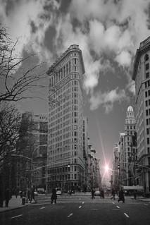 Flatiron Building ~ NYC ~ Manhattan Ny ~ My Vintage Fim