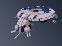 Droid Gunship (Legohaulic) Tags: starwars lego commission droid gunship