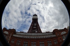 (hazzr 223) Tags: fish eye tower fisheye blackpool builing