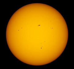 17-05-13 Today's SUN (James Lennie) Tags: sun photography star solar olympus astro devon astrophotography astronomy stacking dslr sunspot solarsystem az3 sunspots northdevon refractor registax ed80 pipp primefocus skywatcher solardisk solarphotography e410 baadersolarfilm