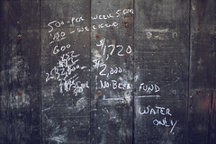 beer calculations. (stevenbley) Tags: abandoned canon newjersey rust industrial factory decay nj urbanexploration mold grime lead trespassing urbanexploring urbex 5dmkii canon5dmarkii stupidrednecks