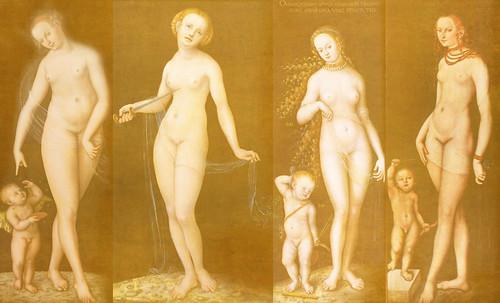 """Venus y Cupido, versiones de los Cranach, el Viejo (1529) maestro fundador de la escuela flamenca, interpretaciones y paráfrasis de Pablo Picasso (1957). • <a style=""""font-size:0.8em;"""" href=""""http://www.flickr.com/photos/30735181@N00/8746770805/"""" target=""""_blank"""">View on Flickr</a>"""