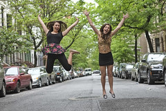 Jumping (blaneyphoto.) Tags: nyc newyorkcity girls people usa nature girl horizontal closeup 35mm outdoors photography newjersey solitude day fuji manhattan happiness teenager series fujifilm cheerful beautifulpeople oneperson freshness frontview confidence brownhair toothysmile casualclothing lookingatcamera 1617years threequarterlength caucasianethnicity teenagersonly oneteenagegirlonly mediumlengthhair handonknee focusonforeground xpro1 fujixpro1