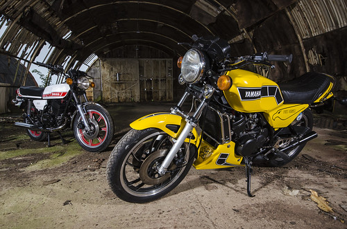 Yamaha RD 350 LC and RD 400