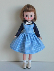 blueberry dress (INOMI) Tags: doll handmade craft fashiondoll dolldress tinybetsy dollcloth betsymccall8