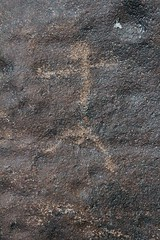Petroglyph / Grimes Point Site (Ron Wolf (...detests this new design...)) Tags: archaeology utah nativeamerican stickfigure petroglyph anthropology shoshone rockart blm anthropomorph piute representational anthromorph numic grimespoint nvch3