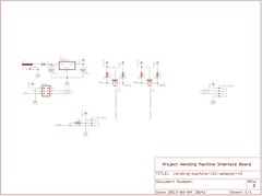 """Interface Board Schematic • <a style=""""font-size:0.8em;"""" href=""""http://www.flickr.com/photos/61091961@N06/8953384327/"""" target=""""_blank"""">View on Flickr</a>"""