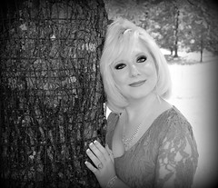 Jenny Jo (Michael Mueller Photography) Tags: portrait people bw woman tree sexy love girl beauty fun photography photo model day outdoor blond blonde lyrical