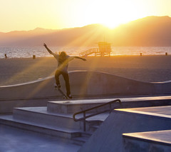 don't stop believing (JKG II) Tags: life california venice sunset sky sun motion beach beauty kids concrete losangeles high amazing cool sand poetry paradise skateboarding action path awesome wheels line carve skate thrash decks lostangeles grind stunts thechallengefactory