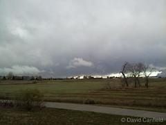 November 3, 2014 - Ominous skies in Lafayette.  (David Canfield)