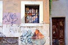 "Roma. Trastevere. Street art. Freely inspired by Andrea Mantegna - ""Sacra Famiglia con una santa"" for #iononmilasciofregare by Tina Loiodice. And a butterfly by... (R come Rit@) Tags: italia italy roma rome ritarestifo photography streetphotography streetart arte art arteurbana streetartphotography urbanart urban wall walls wallart graffiti graff graffitiart muro muri streetartroma streetartrome romestreetart romastreetart graffitiroma graffitirome romegraffiti romeurbanart urbanartroma streetartitaly italystreetart contemporaryart artecontemporanea farfalla butterfly tinaloiodice andreamantegna sacrafamigliaconunasanta moth falena trastevere"