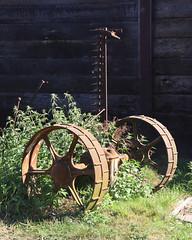 Down on the farm (Treflyn) Tags: campsite rusting farming machinery norden farm dorset