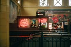 U-Bahn (Miriam Woodburn) Tags: berlin ubahn travel portra400 kodakportra kodak film 35mm