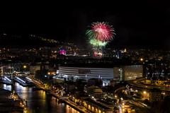 _FEL9195 (Flix Prez Antn) Tags: pentax k5 astenagusia bilbao nocturnas urbanas sanmames pasvasco euskadi bizkaia fireworks fuegosartificiales