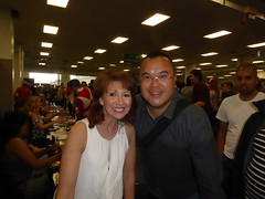 Bonnie_Langford (Commander Idham) Tags: london film comic con paramount warner brothers olympia showmaster saturday 30 july 2016 bonnie langford doctor who