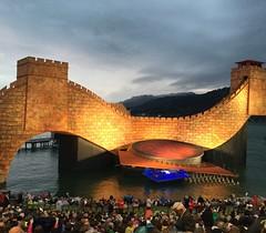 Bregenz, opera festival, Turandot. (paolagospo) Tags: bregenz austria lake lago bodensee opera turandot