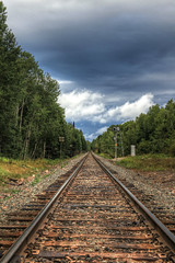 The Great Canadian Railway (Cindy's Here) Tags: railway thegreatcanadianrailway clouds sky pearl ontario canada canon