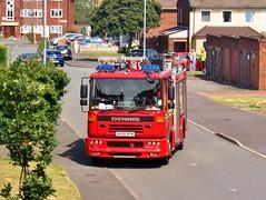 West Midlands Fire Service Dennis Sabre (MJ_100) Tags: emergencyservices emergencyvehicle firebrigade firedepartment fireservice firerescueservice dennis sabre sabrexl fireengine engine pumper appliance apparatus westmidlandsfireservice wmfs