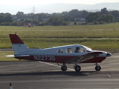 N2273Q Piper 28 (Aircaft @ Gloucestershire Airport By James) Tags: gloucestershire airport n2273q piper 28 egbj james lloyds
