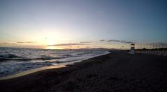 Lazy waves (Cheshire Cat's Friend) Tags: principina mare maremma grosseto toscana tuscany waves sea seaside sunset gopro