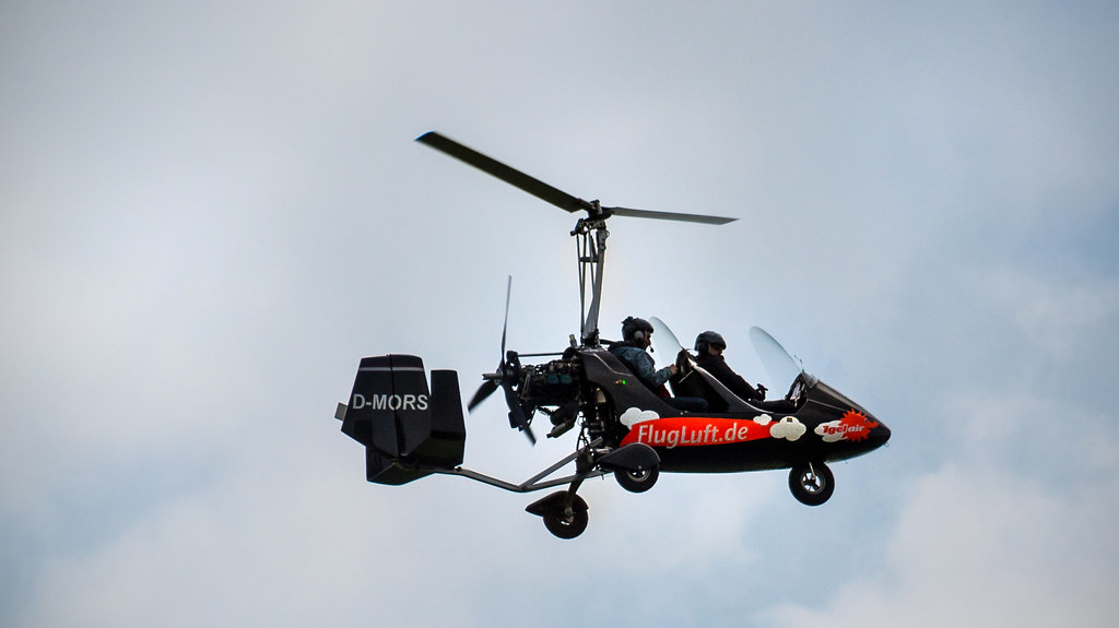 The World's most recently posted photos of gyrocopter and pilot