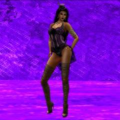 Anachron - Burlesque Corset Orchid (melyna.foxclaw) Tags: anachron genre burlesquecorsetoutfit artdecoempirejewelry reign lumae glamorize raddesignz moonelixir iheartslfeed