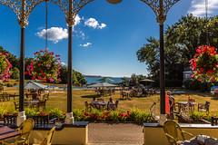 2016-08-14_09-45-54-5D3-0830-ew (mark@langstone) Tags: grounds hotel lawn seaview flowers guests people trees verandah woodland dawlish devon unitedkingdom gbr