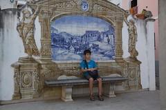 20160824c09701 (txindoki) Tags: conimbriga portugal azulejo banco condeixaavelha