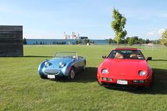 Bug Eye & Porsche 928 (excellence III) Tags: austin healy sprite porsche 928