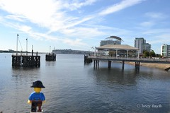 Across the bay (236/366) (Tas1927) Tags: 366the2016edition 3662016 day236366 23aug16 captainjack lego pirate minifigure minifig cardiff
