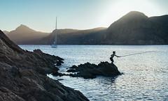(Jairen_) Tags: sunset playa barco bahia portman