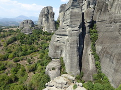 Meteora1 (chrisinwales) Tags: greece meteora monasteries rockformation