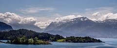 Cloudy Mountains II (consen81) Tags: em10 natur omd bergen fjorde hill lake landscape landschaft mountain nature norway norwegen olympus rock roundtrip rundfahrt wasser water