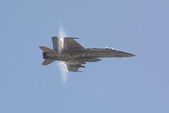 F-18 Hornet (linda m bell) Tags: mcas miramar airshow 2016 california socal f18 hornet boeing military magtf demo vapor