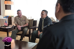 160905-D-SW162-0024 (Chairman of the Joint Chiefs of Staff) Tags: chod conference cjcs chairman countryvisit dod jcs jointchiefsofstaff jointstaff josephfdunford manila ocjcs officeofthechairmanofthejointchiefsofstaff phl philippines usmc uspacom
