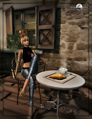 Petit djeuner. (MISS V ANDORRA 2016 - MISSVLA ARGENTINA 2017) Tags: prettythingsshowroom event queenofink tattoos avatar fashion mesh blog blogger photographer models topmodel modeling designers secondlife sl tinroof
