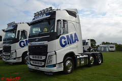 Volvo FH4 'GMA Warehousing & Transport' reg KX15 MXW (erfmike51) Tags: volvofh4 euro6 artic truck lorry gmawarehousingtransport swedefest2016