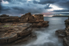 Yesterday's only a memory, DSC_3594 (BlueberryAsh) Tags: phillipisland ocean seascape sunset longexposure 10stopndfilter nikon nikond750 nikon24120 stormscloudssunsetsunrise australianseascape beach weather rainclouds clouds
