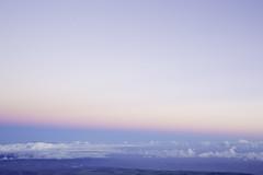 Pastels (plainmama) Tags: sky sunrise haleakala haw hawaii maui clouds mountain