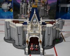 LEGO Disney Castle Set - Disneyland Purchase - Assembly - Stage 7 Completed (drj1828) Tags: us disneyland 2016 lego disney castle purchase 71040 assembly