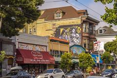 Jimi Hendrix's House (www78) Tags: san francisco california haight ashbury jimi hendrix red house
