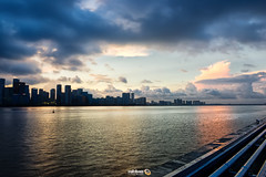 Opportunity (Andy Brandl (PhotonMix.com)) Tags: china hangzhou zhejiangprovince qiantangriver skyline clouds stormclouds river highrises landscape cityscape nikon photonmix