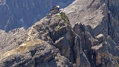 The Nuvolau hut  (Nuvoau group - Dolomites) (ab.130722jvkz) Tags: italy veneto alps easternalps dolomites nuvolaugroup mountains