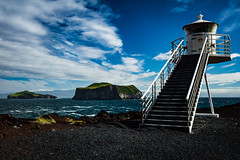 Iceland 2016 - Vestmann Islands (cesbai1) Tags: iceland islande islanda islandia is summer vestmann vestmannaeyjar suurland lighthouse