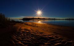 Sun. Sands  (kaising_fung) Tags: sunburst sands ripples water brooklyn beach