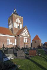 Pilsum - Kreuzkirche (astroaxel) Tags: pilsum kreuzkirche kirche deutschland niedersachsen