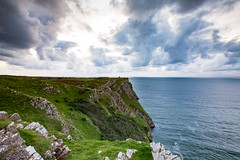 20160930_MG__0546 (Photographsof.com) Tags: rhossilli wormshead llangennith wales walking beach beachscape swansea swanseabay seascape nightphotography nightscape sheep visitwales gower cliffs sea clouds sky skycolours
