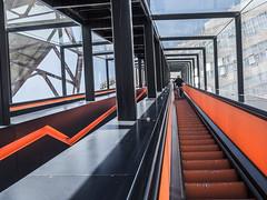 Going up (lars_uhlig) Tags: 2016 denkmal deutschland essen germany unesco welterbe zeche zollverein worldheritage coalmine rolltreppe escalator